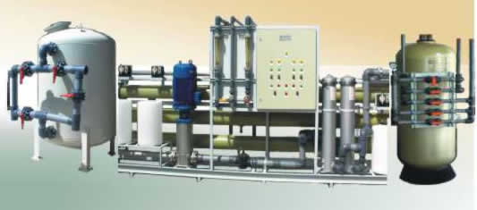 Reverse osmosis water treatment system for Water Bottling {300 cubic meters/day}