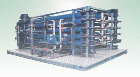Revese Osmosis Water Treatment System {from 500 to 5000 cubic meters per day}